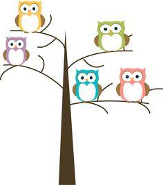 owl family o the owl with his uncle x daniel tiger pinterest rh pinterest com Choir Singing Clip Art Autumn Tree Clip Art
