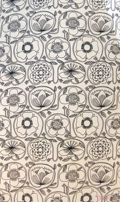 Juliet Glynn Smith textile design. 1965.