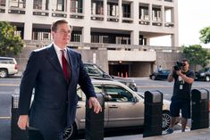 a man wearing a suit and tie standing in a parking lot: Paul Manafort, President Trump's onetime campaign chairman, arriving at federal court in Washington in June. Political Opinion, Politics, What Happened In 2016, Judging Amy, Paul Manafort, House Arrest, Trump New, Recent Events, Republican Party