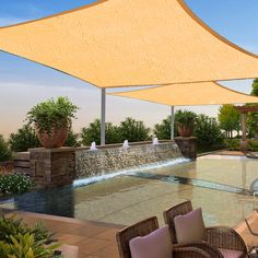 12'x 12'Square Sun Shade Sail Uv Blocking Outdoor Patio Lawn Garden Canopy Cover -- Be sure to check out this awesome product.