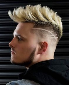 Top 25 Cool Mohawk Hairstyles for Men - Blond Fohawk with Disconnected Design, .- Top 25 Cool Mohawk Hairstyles for Men – Blond Fohawk with Disconnected Design, … – – Top 25 Cool Mohawk Hairstyles for Men – Blond Fohawk with Disconnected Design, …, Latest Haircut For Men, Haircut Designs For Men, Haircuts For Men, Mohawk Hairstyles Men, Pompadour Hairstyle, Popular Mens Hairstyles, Stylish Hairstyles, Men's Hairstyle, Corte Pompadour