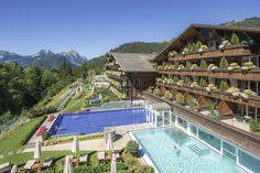 Wellness Ermitage, Schönried ob Gstaad: Entspannungs-Oase   NZZ Bellevue