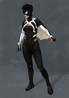 "dimaiv-nov: ""Special agent Jessica Drew Commissioned redesign of Spider-Woman. Superhero Suits, Superhero Characters, Superhero Design, Superhero Ideas, Super Hero Outfits, Super Hero Costumes, Comic Character, Character Concept, Zbrush"