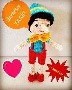 Amigurumi For Beginners, Amigurumi Doll, Diy Toys, Free Pattern, Dinosaur Stuffed Animal, Cross Stitch, Bunny, Crochet Hats, Miniatures