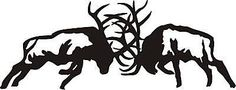 We have here one WHITE decal that is approx 2 feet in length. The decal is made of high quality exterior grade vinyl, that will stick to any clean smooth surface indoors or outdooors. These are die cut decals that have no background. Elk Drawing, Fighting Tattoo, Elk Silhouette, Hunting Tattoos, Bull Elk, Elk Hunting, Hunting Humor, Hunting Quotes, Hunting Tips