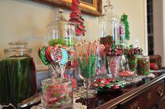 Mom's Candy Bar at Christmas