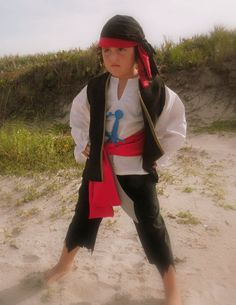 possibly cate's halloween costume this year - she wants to be a pirate