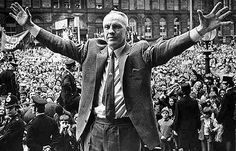 Bill Shankly — Liverpool's determinedly socialist football manager Liverpool Legends, Liverpool Fans, Liverpool Football Club, Liverpool Tattoo, Liverpool Champions, Liverpool Town, Inspirational Soccer Quotes, Bob Paisley, Bill Shankly