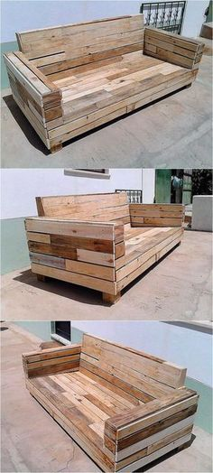 Nothing is better than reshaping the wood pallets and create something that is not only required in the home, but also saves a huge amount of money just like the repurposed wood pallet couch. It is not a good idea to rush to the market when the item that can fulfill the need is present at home, if anyone who loves to create the furniture using the wood pallet doesn't have pallets at home; then they can be purchased as they are available at a low rate. Even small pieces of the pallets are