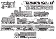 Exmouth Market Clerkenwell EC1 Limited Edition Print London