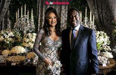 La empresaria brasileña Marcia Cibele y Pelé contrajeron nupcias.