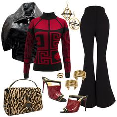 Empire (Fox-November 25, 2015) Season 2-Episode 9-Sinned Against - One of Cookie's outfits during the episode.- FOX