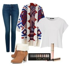 Winter by haylie1kat on Polyvore featuring polyvore, fashion, style, NYDJ, UGG Australia, Forever 21 and By Terry