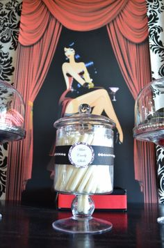 Burlesque 40th Birthday Party Themes | CatchMyParty.com