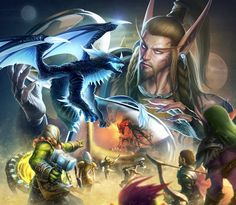 World of Warcraft: Legion |  by shawnfox520