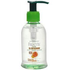 Garnier Fructis Sleek & Shine Anti-Frizz Serum 5.1 fl oz / 150.8 g - http://essential-organic.com/garnier-fructis-sleek-shine-anti-frizz-serum-5-1-fl-oz-150-8-g/