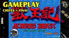 Altered Beast MEGA DRIVE Chefes e Final do Jogo