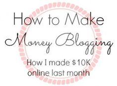 How To Make Money Blogging #blog #blogging #blogtips #bloggingtips
