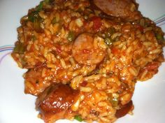 Jambalaya: Cajun in one dish- spicy, savory, and just plain good. I hope I get to go to New Orleans to experience it for real one day...