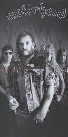 Lemmy Kilmister/Phil Campbell/Mickey Dee/Wurzel