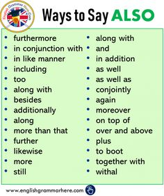 Other Ways To Say in English, Phrases Examples - English Grammar Here Essay Writing Skills, Book Writing Tips, English Writing Skills, Writing Words, Academic Writing, Synonyms For Writing, Business Writing Skills, Email Writing, 5th Grade Writing