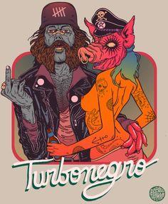 Turbonegro _ Douglas Bicycleta