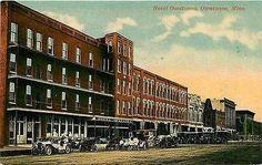 Owatonna Minnesota MI 1912 Hotel Owatonna Downtown Collectible Vintage Postcard