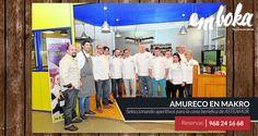 ¿Sabías qué nuestra cocinera jefe Nuria Hernández estuvo ayer en Makro con los compañeros de Amureco? Eligiendo los 6 aperitivos para la cena benéfica de Asteamur del 15 de febrero. Estamos en La Flota, Murcia. Reservas: 968241668  http://www.laverdad.es/murcia/culturas/201601/19/aperitivos-lujo-para-cena-20160119011435-v.html