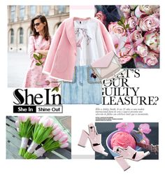 """""""SheIn"""" by elen-015 ❤ liked on Polyvore featuring Gucci, Alexander Wang and Rebecca Minkoff"""