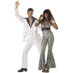 Foxy Lady And Saturday Night Fever Costume