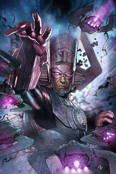 Galactus is only cool on paper. | Comics Marvel | Pinterest ...