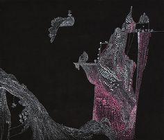 wagle wagle moutnain & water by ssin Korean Illustration, Deer, Symbols, Brooch, Jewelry, Art, Art Background, Jewlery, Jewerly