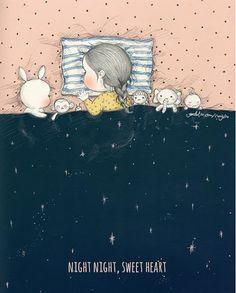 Son una meravella plena de tendresa aquestes il·lustracions de Tokkiin Milano (꼬닐리오. Coniglio) . Una xiqueta i el seu conillet són els ...