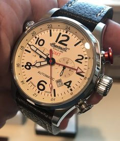Ingersoll Automatic Day Date Chronograph Lawrence Collection 46mm IN3218
