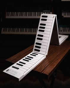 How do you get a piano on a plane? Fold it up. The Carry-On 88-Key Folding Piano packs a full-scale keyboard with 128 voices and rhythms and 30 backing tracks into a compact, collapsible design with USB connectivity, USB battery, and built-in stereo speakers. Travel light. . . . . #chicagomusicexchange #chicagosynthexchange #CarryOnPiano #synthtalk #synthplayer #tonemob #knowyourtone #gearwire #gearybusey Backing Tracks, Cool Gear, Stereo Speakers, Travel Light, Keyboard, Carry On, Plane, Keys, Compact