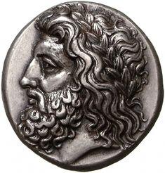 Statere - argento - Lega Arcadica, Grecia (363-362 a.C.) - Zeus di profilo vs.sn. coronato di alloro - Münzkabinett Berlin