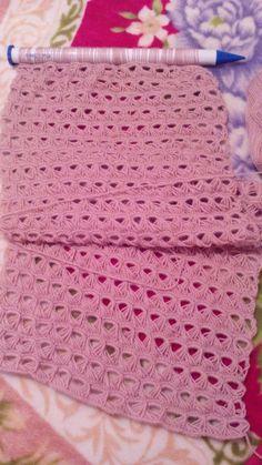 Crochet Stitches, Knit Crochet, Blanket, Knitting, Cushions, Blankets, Tricot, Breien, Crochet