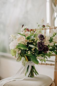 Relaxed and wild Wedding bouquet from The Informal florist for Cliodhna & Fergus summer manor wedding at Marlfield House Co. Ireland Wedding, Bride Bouquets, On Your Wedding Day, Portrait Photographers, Wedding Colors, Boho Chic, Table Decorations, Bridal, Wexford Ireland