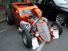 Afternoon Drive: Hot Rods & Rat Rods Photos A hot rod is a specific type of automobile that has been modified to produce more power for racing straight ahead. The hot rod originated in the early. Hot Rods, Classic Hot Rod, Classic Cars, Carros Hot Rod, Hot Rod Autos, Cj Jeep, Sweet Cars, Amazing Cars, Awesome