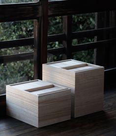 Kiri Wood Rice Bin - Analogue Life