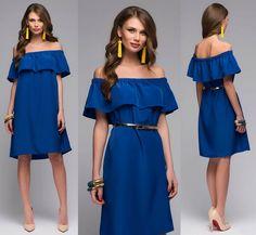 Выкройка «платья-блузы-туники с оборкой»  40-62