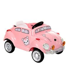 Loving this Pink Peace Mobile Ride-On on #zulily! #zulilyfinds