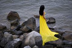 This looks like my grad dress, I can't wait to be the woman in yellow