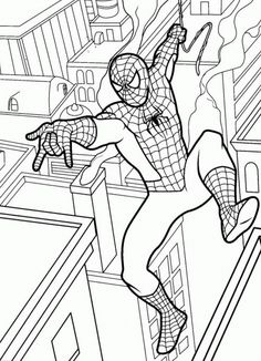 Find This Pin And More On Spiderman Coloring Pages By ColoringsWorld
