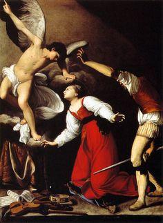 "lyghtmylife: "" SARACENI, Carlo [Italian Baroque Era Painter, ca.1580-1620] The Martyrdom of St Cecilia c. 1610 Oil on canvas, 136 x 99 cm Los Angeles County Museum of Art, Los Angeles """
