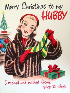 We recently scored oodles and oodles of greeting cards from the 1940s through 1960s. I have had such a blast going through them all…and will be sharing some of my favorites with you all here.