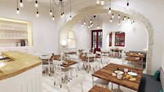 brunch restaurant, mykonos island, chora, traditional, Greek Architecture