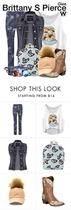 """Glee"" by wearwhatyouwatch ❤ liked on Polyvore featuring CC, maurices, Lane, television and wearwhatyouwatch"
