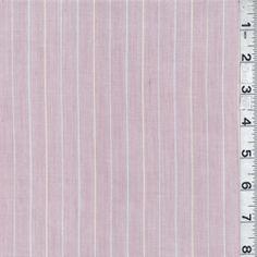 Pink Stripe Shirting - Discount Fabrics