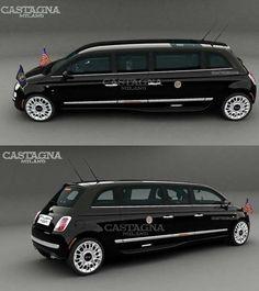 Fiat 500 Limousine by Castagna Milano